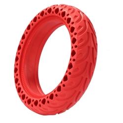 """Литая шина для электросамоката 8,5x2"""" цвет: красный"""