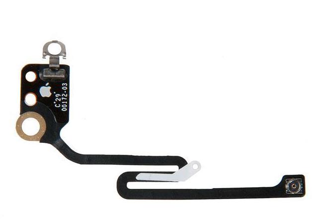 Шлейф антенны Wi-Fi (коаксиальный кабель) для Apple iPhone 6S