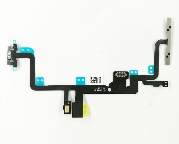 Шлейф кнопки выключения/включения и кнопок громкости для Apple iPhone 7 Plus