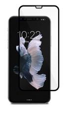 Защитное стекло для Apple iPhone XS, 5D (полная проклейка), цвет: черный