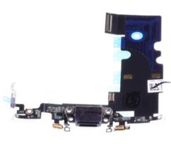 Шлейф разъема зарядки для Apple iPhone 8 (Charge Conn), цвет: черный
