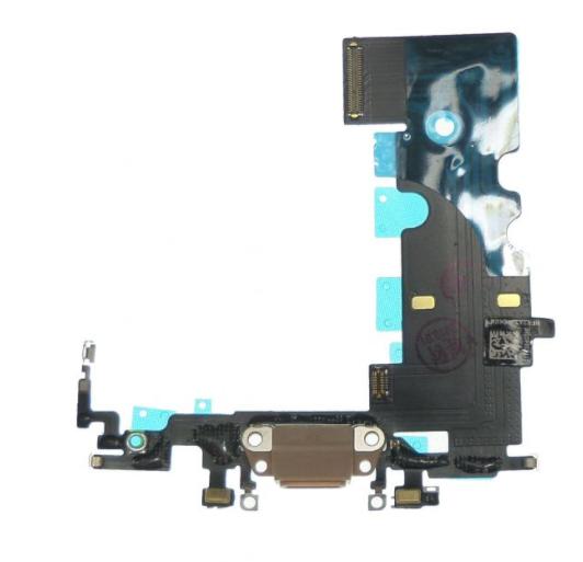 Шлейф разъема зарядки для Apple iPhone 8 (Charge Conn), цвет: золотой