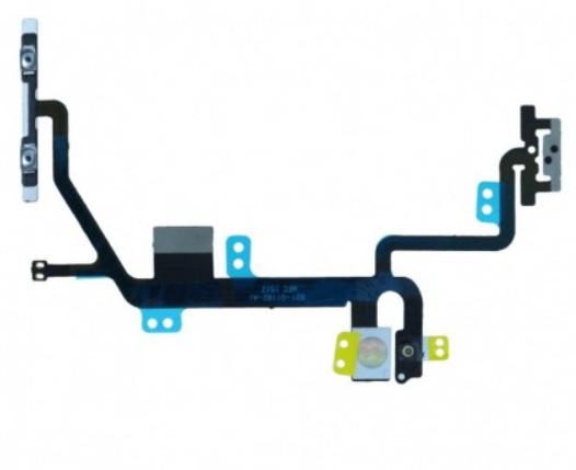 Шлейф кнопки выключения/включения и кнопок громкости для Apple iPhone 8