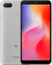 Задняя крышка для Xiaomi Redmi 6 цвет: серый