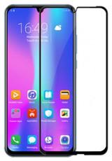 Защитное стекло для Huawei Honor 8S 2019 (KSA-LX9) 5D (полная проклейка), цвет: черный