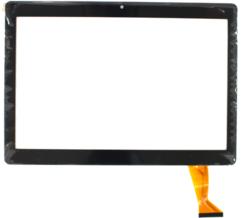 """Тачскрин для планшета Универсальный 10"""" (QSF-PGA005-FPC-A0, CH-1096A1-FPC276-V02, MJK-0607-V1, FPC-220-V0, FX101S316-V0 SLR, GT10JTY131 (отверстие камеры левее центра)), цвет: черный"""