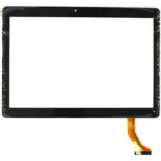 """Тачскрин для планшета Универсальный 10.1"""" (CH-1096A1-FPC276-V02, MJK-0607-V1, FPC-220-V0, FX101S316-V0 SLR, GT10JTY131 (отверстие камеры по центру)), цвет: черный"""
