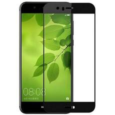 Защитное стекло для Huawei Nova 2 Plus 5D (полная проклейка) цвет: черный
