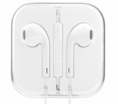 Наушники Apple EarPods белые (аналог)