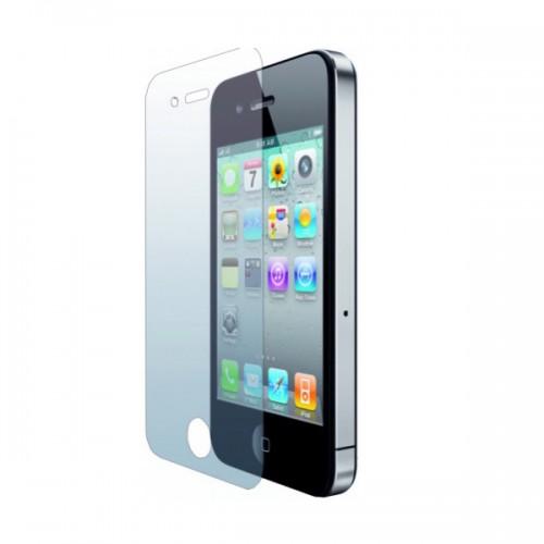 Защитное стекло для Apple iPhone 4, цвет: прозрачный
