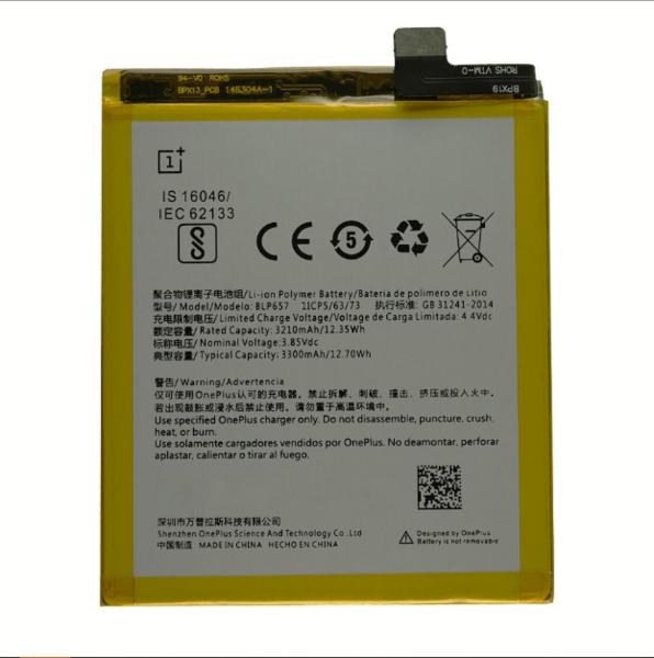 Аккумулятор для OnePlus 6 (BLP657) оригинальный
