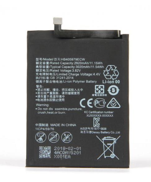 Аккумулятор для Huawei Y5 Lite (DRA-LX5) (HB405979ECW) оригинальный