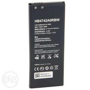 Аккумулятор для Huawei Honor 3C (HB4742A0RBC, HB4742A0RBW) оригинальный