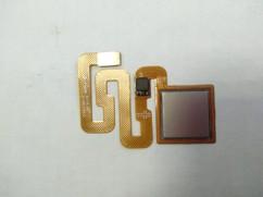 Шлейф для Xiaomi Redmi 4X в сборе со сканером отпечатком пальцев, цвет: серый