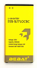 Аккумулятор Bebat для Samsung Galaxy J7 2016 J710 (EB-BJ710CBE)