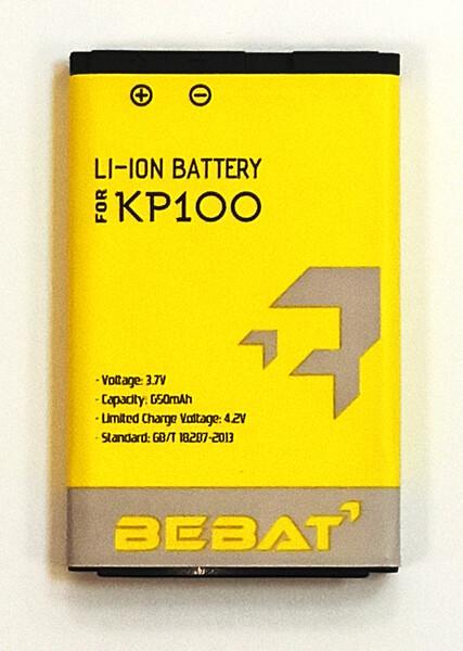 Аккумулятор Bebat для LG KP100 (LGIP-430A)