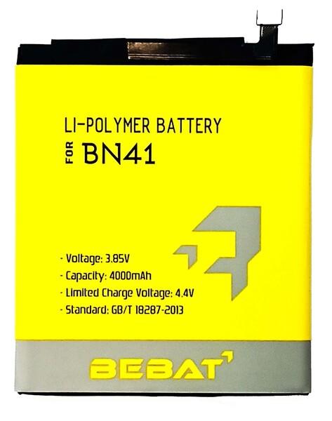 Аккумулятор Bebat для Xiaomi Redmi Note 4 (BN41)