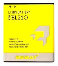 Аккумулятор Bebat для Lenovo S650, S820 (BL210)