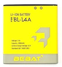 Аккумулятор Bebat для Nokia Lumia 535 RM1089, Lumia 535 RM1090, Lumia 540 (BL-L4A)