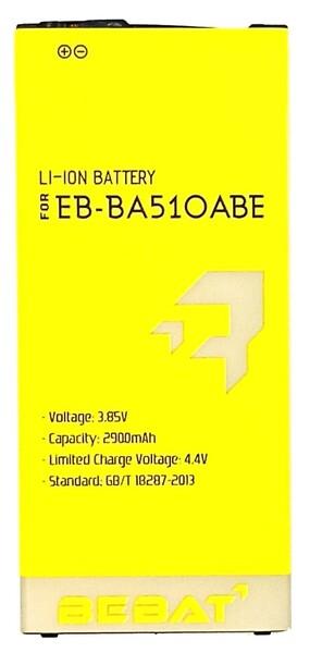 Аккумулятор Bebat для Samsung Galaxy A5 2016 SM-A510F (EB-BA510ABE)