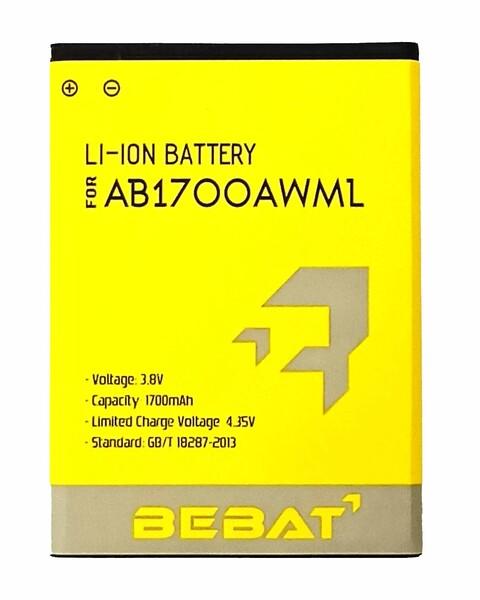Аккумулятор Bebat для Philips S388 (AB1700AWML)