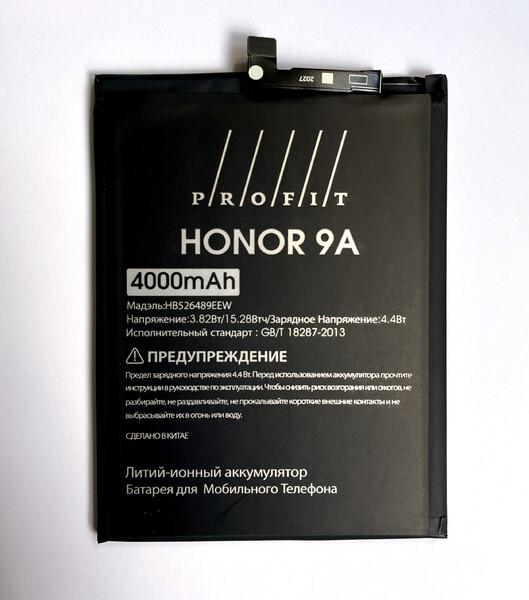 Аккумулятор Profit для Huawei Honor 9A, Honor Play 9A (HB526489EEW)