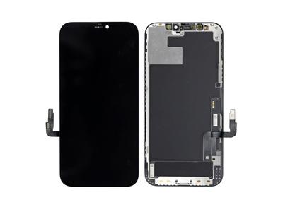 Экран для Apple iPhone 12 с тачскрином, цвет: черный(оригинальный дисплей)