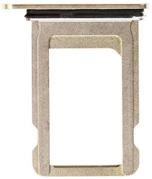 Sim-слот (сим-лоток) для iPhone XS цвет: золото