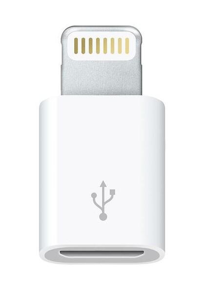 Переходник (адаптер) Micro to Apple Lightning OTG