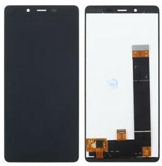Экран для Nokia 1 Plus с тачскрином, цвет: черный