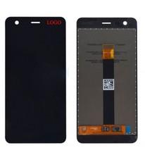 Экран для Nokia 2 с тачскрином, цвет: черный