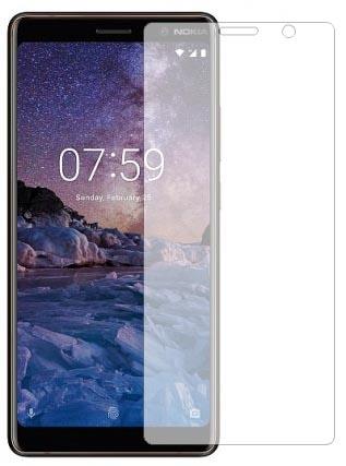 Защитное стекло для Nokia 8, цвет: прозрачный