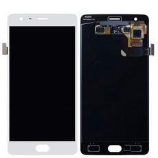 Экран для OnePlus 3, 3T с тачскрином, цвет: белый оригинальный