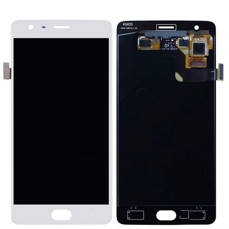 Экран для OnePlus 3 с тачскрином, цвет: белый
