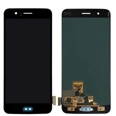 Экран для OnePlus 5 с тачскрином, цвет: черный (аналог)