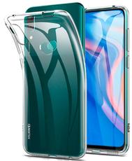 Чехол для Huawei P smart Z 2019 силиконовый, цвет: прозрачный