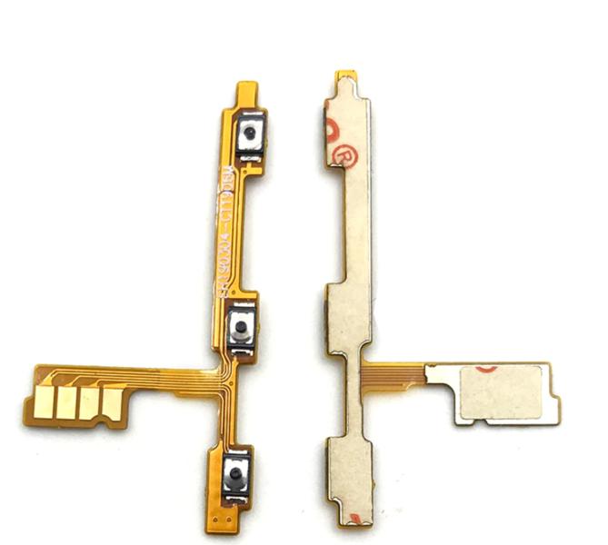 Шлейф для Huawei P30 Lite с кнопкой выключения/включения и регулировки громкости
