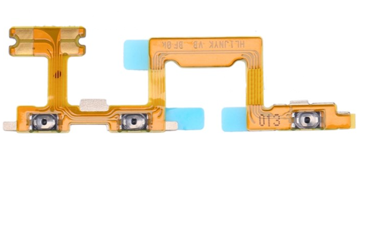 Шлейф для Huawei P40 Lite с кнопкой выключения/включения и регулировки громкости