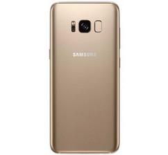 Задняя крышка (корпус) для Samsung Galaxy S8 (G950FD), цвет: золотистый
