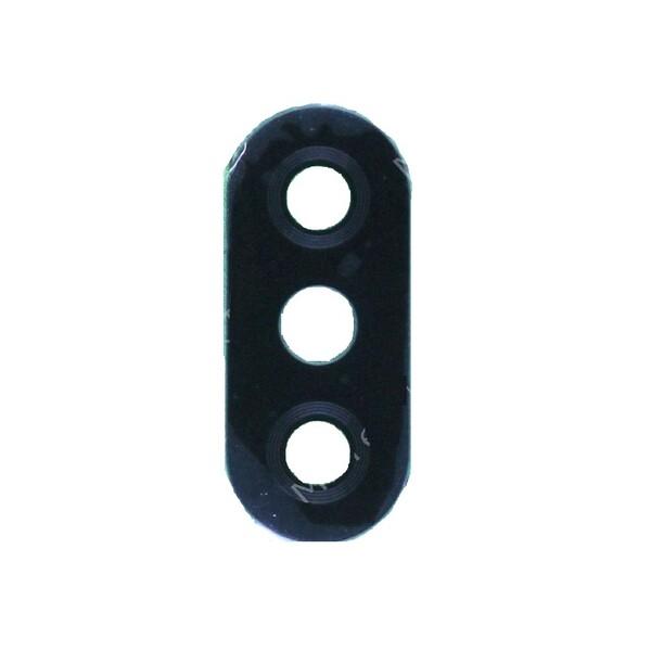 Стекло задней камеры для Xiaomi Mi A2 Lite, Redmi 6 Pro, цвет: черный