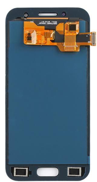 Экран для Samsung Galaxy A3 2017 (SM-A320F) с тачскрином, цвет: голубой (оригинал)