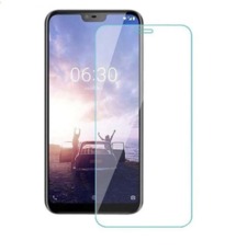 Защитное стекло для Nokia 6.1 Plus + (X6) цвет: прозрачный