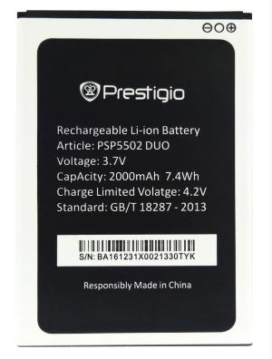 Аккумулятор для Prestigio Muze A5 (PSP5502) оригинальный