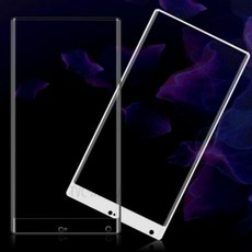 Защитное стекло для Xiaomi Mi MIX 5D (полная проклейка), цвет: белый