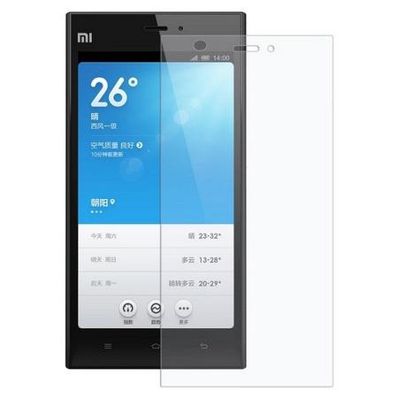 Защитное стекло для Xiaomi Mi3, цвет: прозрачный