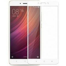 Защитное стекло для Xiaomi Redmi Note 4X 5D (полная проклейка), цвет: белый