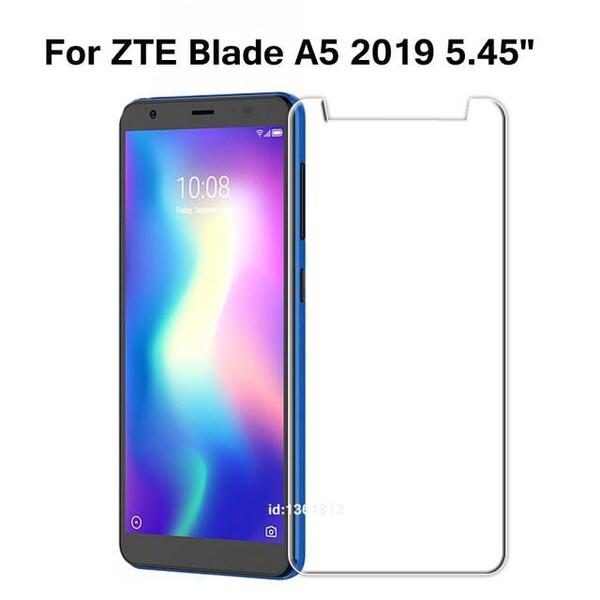Защитное стекло для ZTE Blade A5 2019 , цвет: прозрачный
