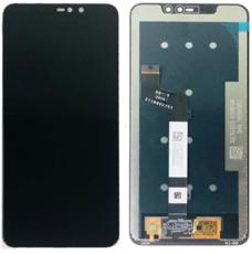 Экран для Xiaomi Redmi Note 6 Pro с тачскрином, цвет: черный