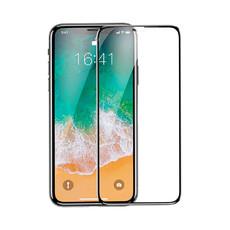 Защитное стекло для Apple iPhone X 5D (полная проклейка), цвет: черный