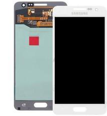 Экран для Samsung Galaxy A3 2015 (A300) с тачскрином, цвет: белый (оригинал)